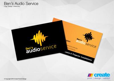 Ben's Audio Service